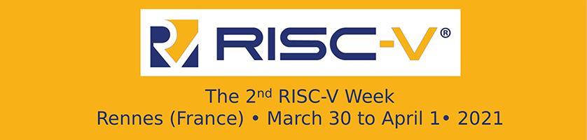 2ND RISC-V WEEK
